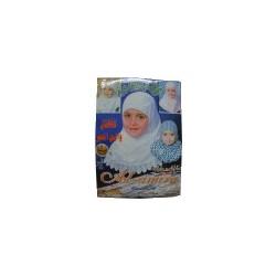 Hijab for girls white (Hijab girls)