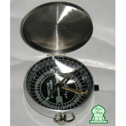 High precision metal compass with cover to find the direction of qibla (Mecca) for prayer