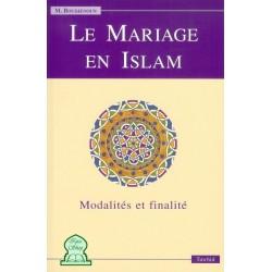 Le mariage en Islam - Modalités et finalités