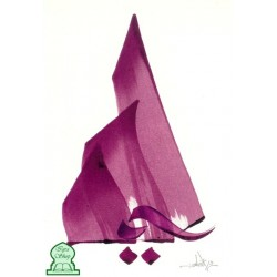 "Postcard ""The mountain"" [CC49] - الجبل"