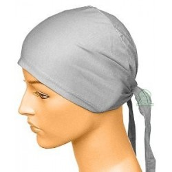 Light gray cotton hat