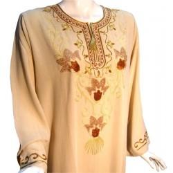 Leyla beige dress (Size XL)