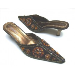 Clogs - Evening mules (size 40)