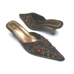 Clogs - Oriental mules for parties (size 40)