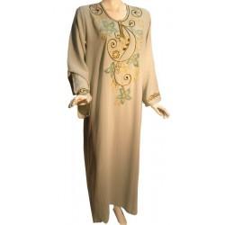 Khaki green Leyla dress (Size XL)