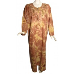 Firdaws dress Indian red color (Standard size)