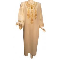 Leyla dress color off-white (size XL)
