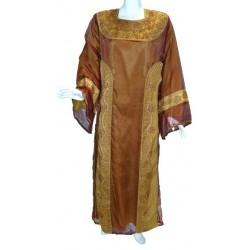 Evening dress Jamila brown (Size L)