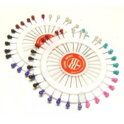 Set of 2 wheels of 40 large pins with several colors
