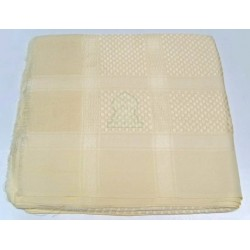 Ghutra (large square Saudi scarf) in cream color