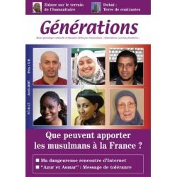 """Revue """"Générations"""" : Que peuvent apporter les musulmans à la France ? (N° 16-17 Avril..."""