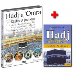 "Pack DVD+Livre ""Hadj et 'Omra"" (Pèlerinage et visite pieuse)"