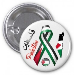 "Badge ""Palestine"" (Map and flags) - فلسطين"