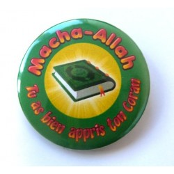 Macha-Allah badge: You learned your Quran well (Green)