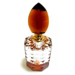 Crystal perfume bottle (10ml) - Model - Brown