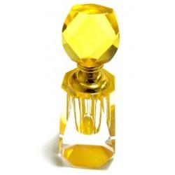 "Mixed perfume ""Golden Apple"" in golden yellow crystal bottle"