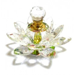 Perfume Musk Al-Body in crystal bottle in flower form