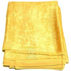 Coupon M'lifa Saoudia (3 meters) - Cashmere Touch - Honey colored Mlifa fabric