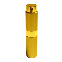 """Golden pocket spray with the """"Rouh Al Musk"""" perfume from the """"Musc d'Or"""" brand"""