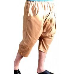 Serwal comfort trousers in cotton gabardine for men - Size M - Beige color