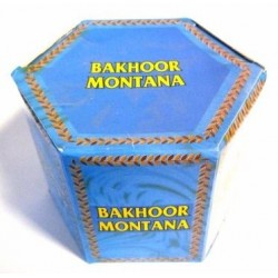"Box of bakhour ""Montana"" in round tablets - بخور مونتانا"