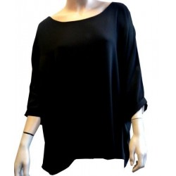 Black colored tunic for women - Standard size