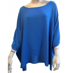 Blue colored tunic for women - Standard size