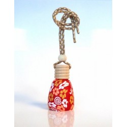 """Red Musk"" fragrance diffuser for the car (8 ml) - Mixed"