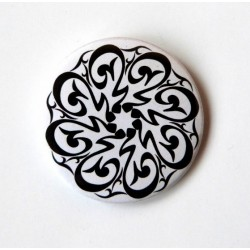 "Badge ""Muhammad"" artistic calligraphy - محمّد"