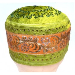 Chachia light green and with pretty patterns