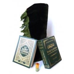 Pack cadeau hommes : Le Saint Coran (arabe-français-phonétique) + Riyâd As-Sâlihîne +...