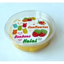 "Confectionery box halal candies ""bananas"" - 140 g net"