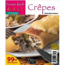 Cuisine facile de A à Z - Crêpes (15 recettes) - الطبخ السهل - كريب