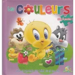 Les couleurs : Joue et apprends avec Bébé Titi et ses amis (6 puzzles)