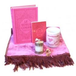 Pack cadeaux Rose pour Ma Soeur