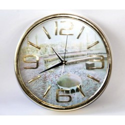 Islamic clock with the picture of Mecca