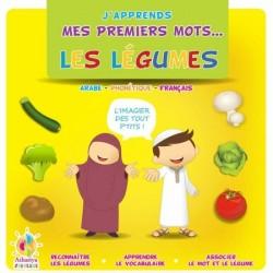 J'apprends mes premiers mots : Les légumes