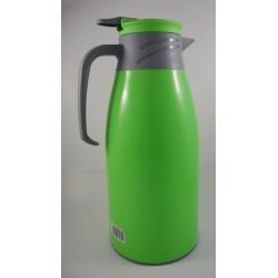 1.9L green plastic thermos