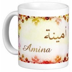 """Pack Mug (tasse) + Parfum """"Amina"""""""