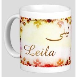 """Pack Mug (tasse) + Parfum """"Leila"""""""