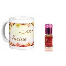 """Pack Mug (tasse) + Parfum """"Sirine"""""""
