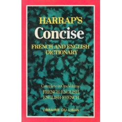 Harrap's Concise French and English Dictionary - الوجيز قاموس اللغتين الفرنسية و...