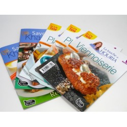 Pack 5 livres de cuisine illustrés (Samira Tv)
