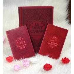 Pack Cadeau Bordeaux (3 livres en français-arabe-phonétique) : Le Saint Coran, Chapitre...