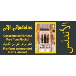 "Concentrated perfume without alcohol Musk d'Or ""Al-Andalus"" (3 ml) - For men"