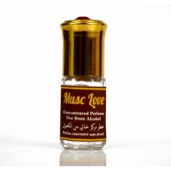 "Concentrated perfume without alcohol Musc d'Or ""Musc Love"" (3 ml) - Mixed"