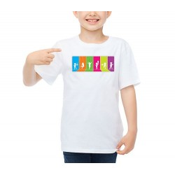 Customizable T-Shirt Kids Games Icons