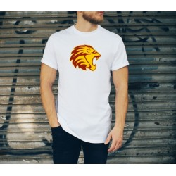 "Customizable T-Shirt ""The Lion"" - الأسد"