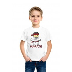 Personalized Junior Karateka T-Shirt