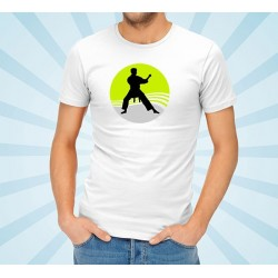 Customizable Karate Bushido T-Shirt (Green)